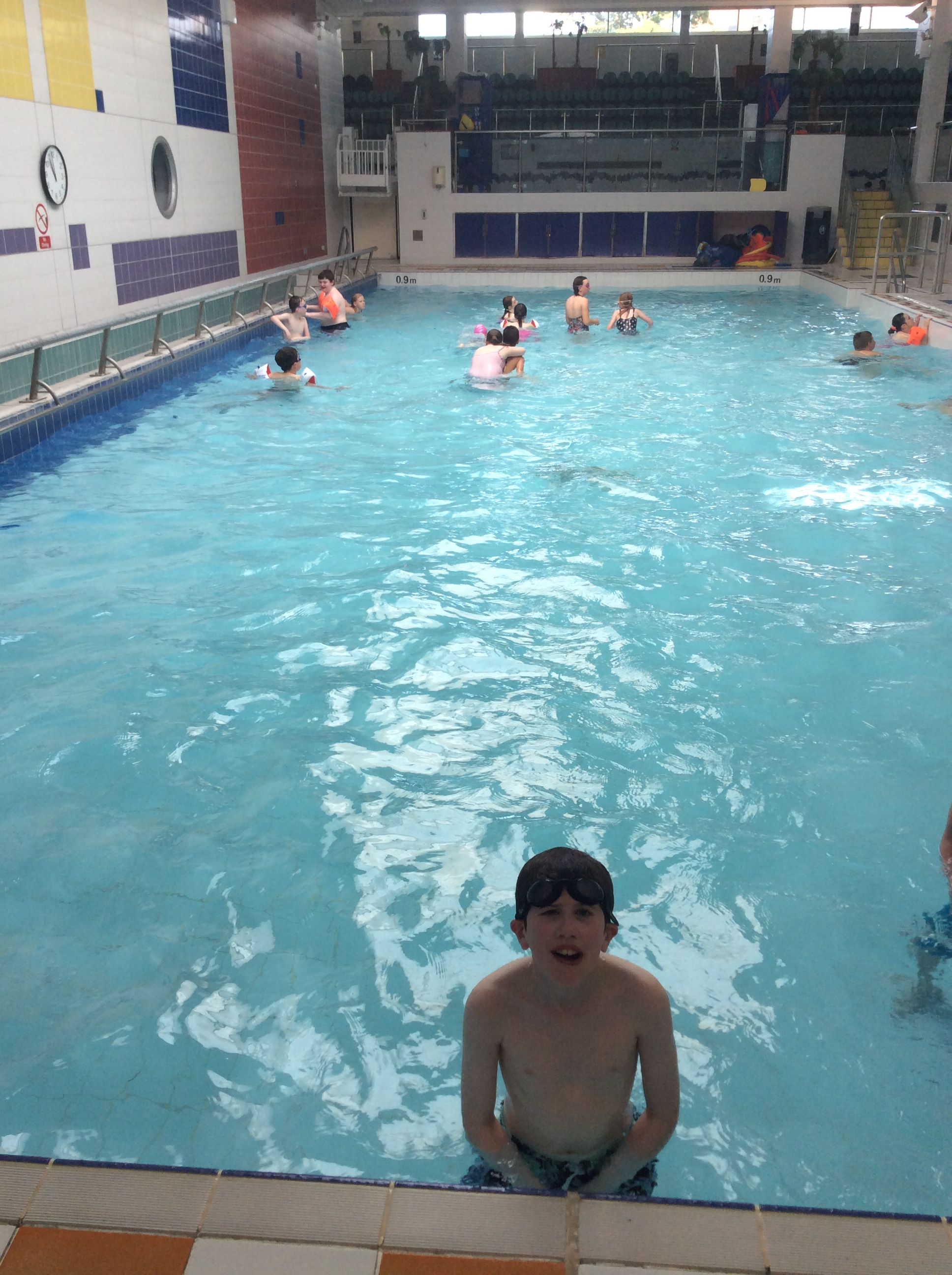 Swimming Lessons Begin Castle Tower
